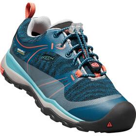 Keen Terradora WP Shoes Youth aqua sea/coral